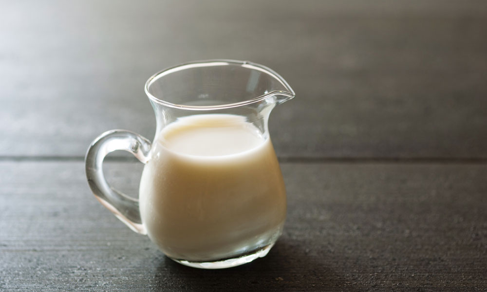 jug of milk stock image