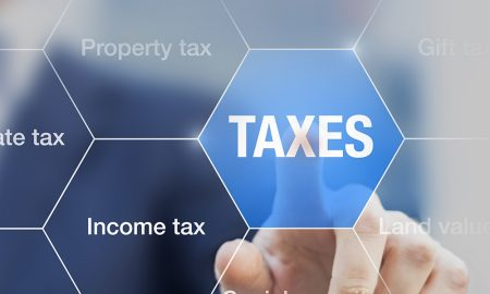 taxation stock image
