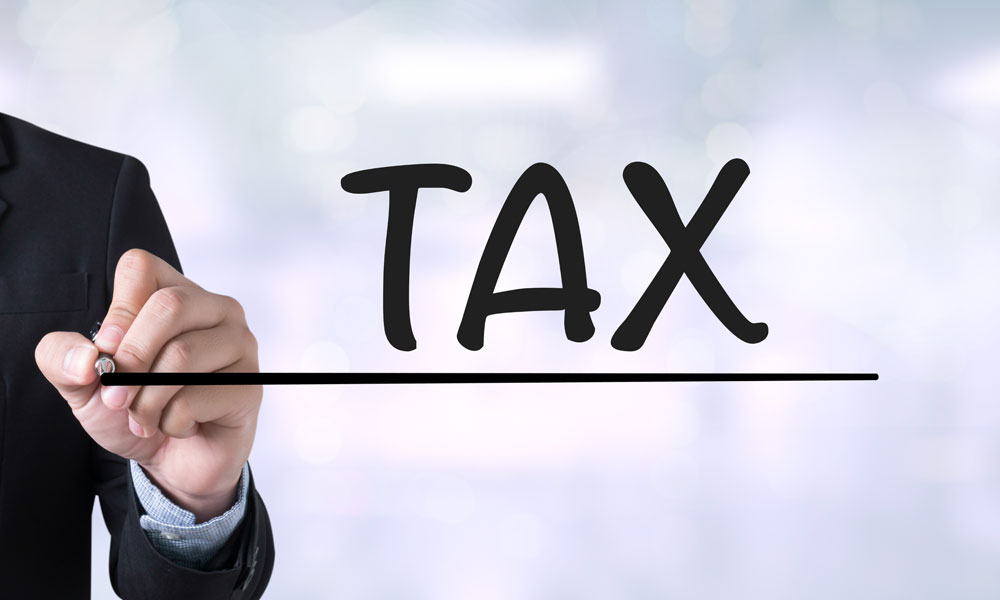 tax business stock image