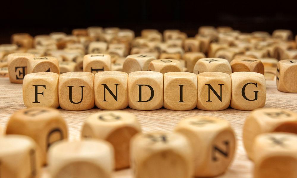 funding blocks stock image