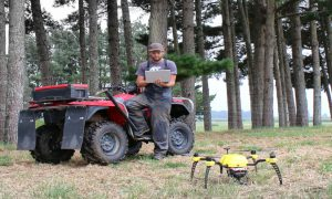 UAV farm image