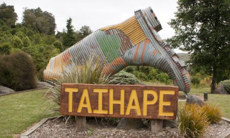 taihape new zealand stock image