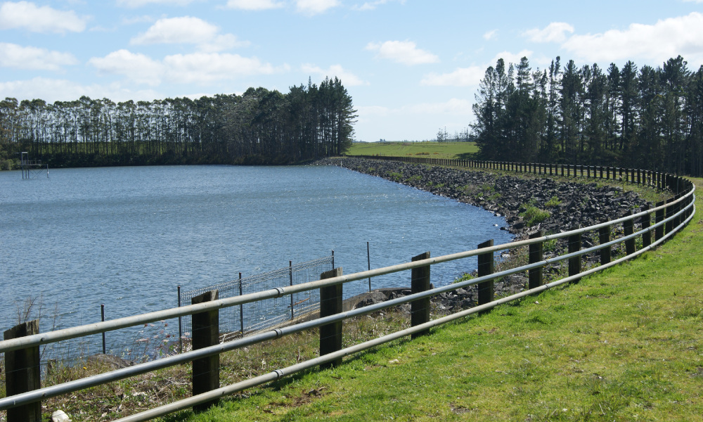 The Kerikeri Irrigation Company's storage pond. The scheme provides water for horticulture, Kerikeri township and lifestyle blocks. New Zealand will need to develop more water storage facilities in the future, says IrrigationNZ.