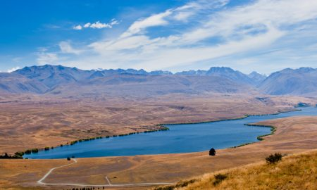 Lake Alexandrina stock image