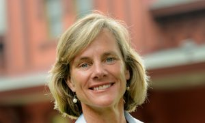 Sue Minter, candidate for Governor of Vermont. Photo by Gordon Miller