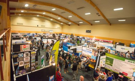 The AWS Welcome function during the 2018 IrrigationNZ IrrigationNZ Conference and Expo in Central Otago NZ on 17th April 2018