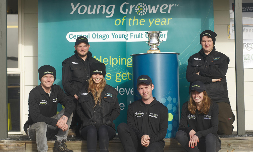 Central Otago Young Fruit Grower of the Year competition