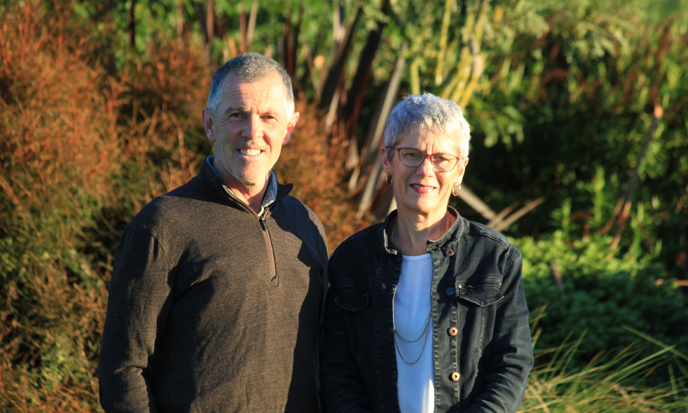 Methven farmers Mark and Jennifer McDonald