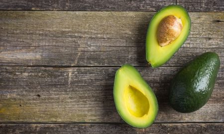 avocadoes stock image