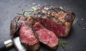 wagyu beef stock image