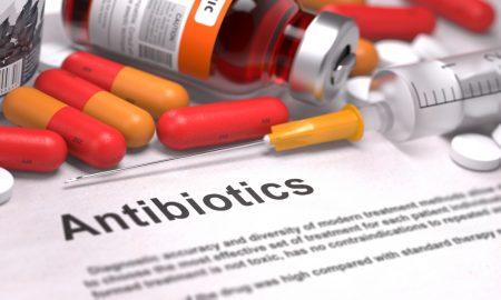 antibiotics stock image