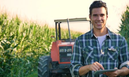 agriculture student stock image